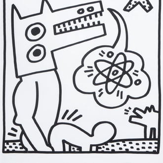 Keith Haring (1958-1990): Untitled, lithograph