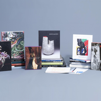 An interesting and varied collection of art books and exhibition catalogues on mainly modern art