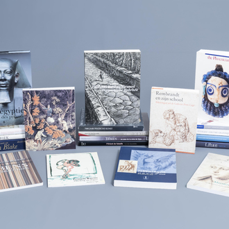 An interesting and varied collection of art books and exhibition catalogues on various fields of arts