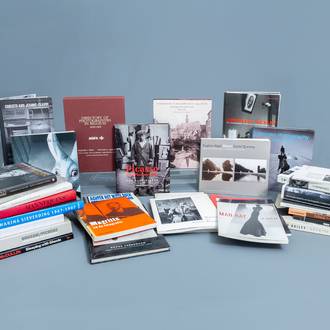 An interesting and varied collection of art books and exhibition catalogues on photography