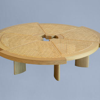 Charlotte Perriand (1903-1999): '529 Rio Low Table' pour Cassina, [1962]