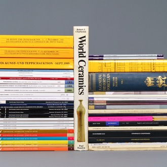 52 books, magazines and auction catalogues on mostly European ceramics