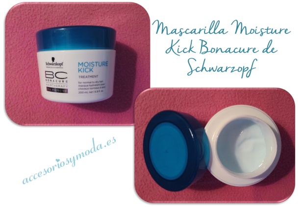 mascarilla moisture kick de schwarzkopf