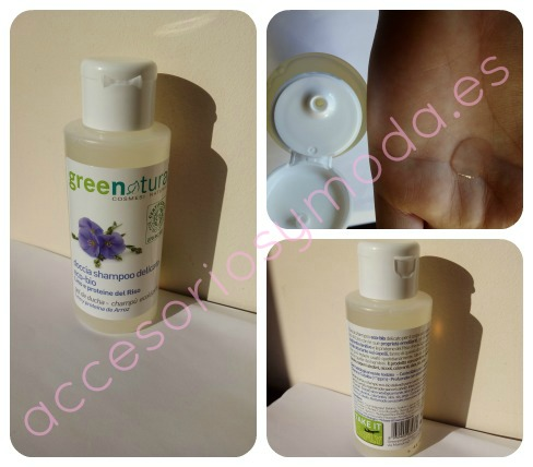 green natural gel