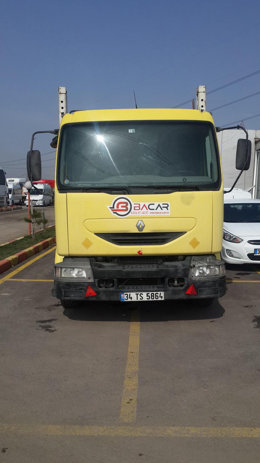 Renault MIDIUM 180.13 4 LÜ OTO TAŞIYICI