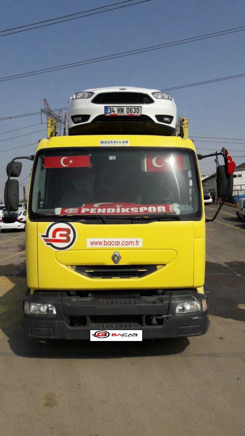 Renault MIDLIUM 180.13 4 LÜ OTO TAŞIYICI