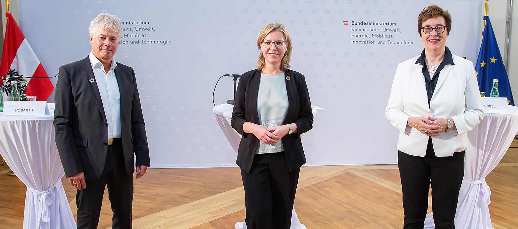 Pressekonferenz Klima- und Energiefonds