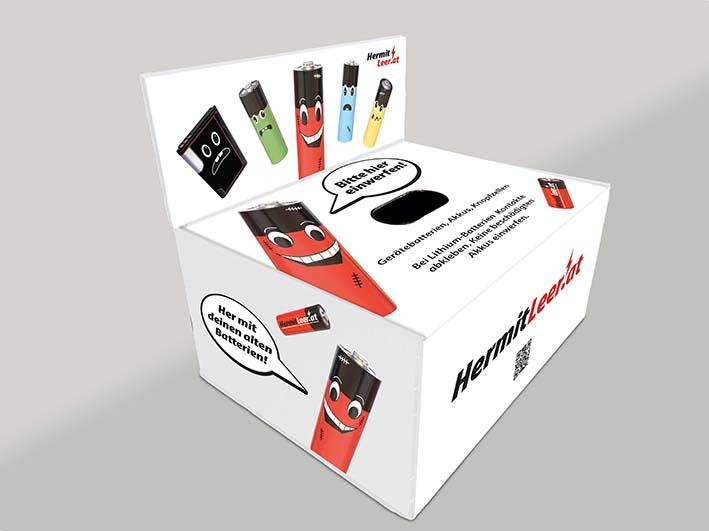Batterie-Sammelbox