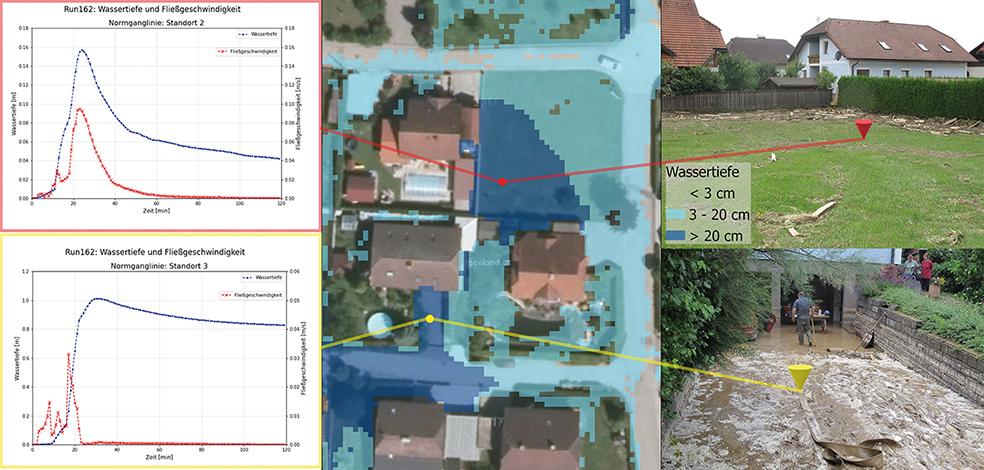 Hangwasserereignissen vom 8. bis 11. Juni 2011 im Schwertberger Ortsteil Poneggen