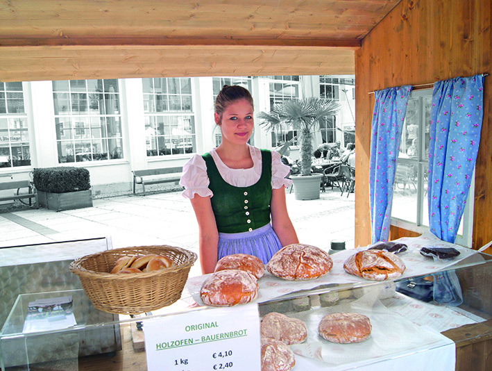 Wochenmarkt Bad Ischl.