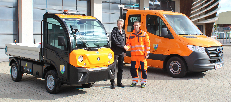 E-Fahrzeug in Deutsch-Wagram