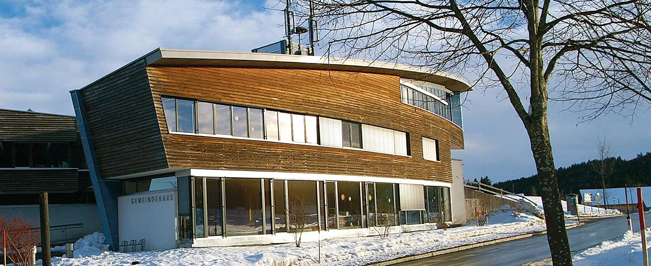 Gemeindehaus von Möggers