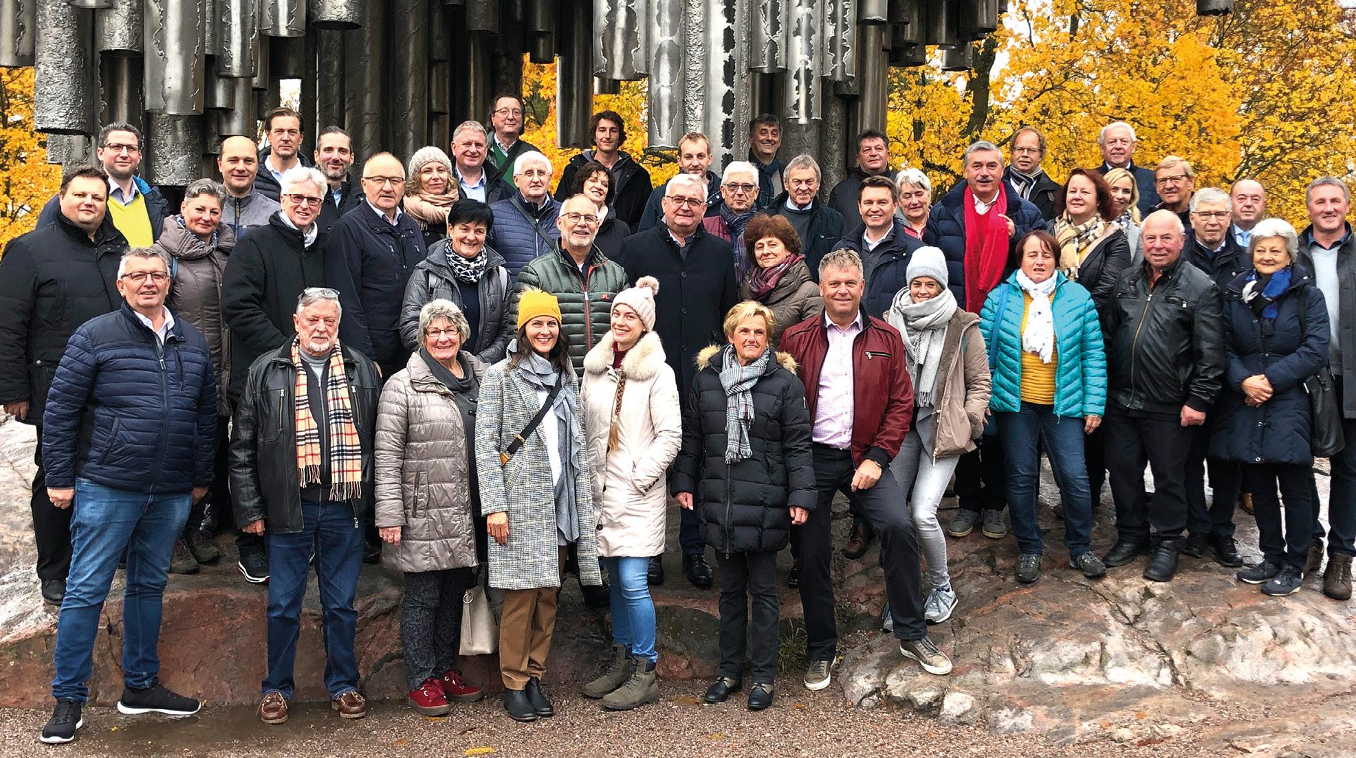 Gemeindebundreise nach Finnland