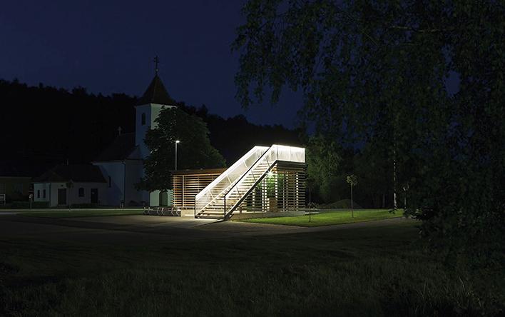 Gemeindepavillon in Rohr