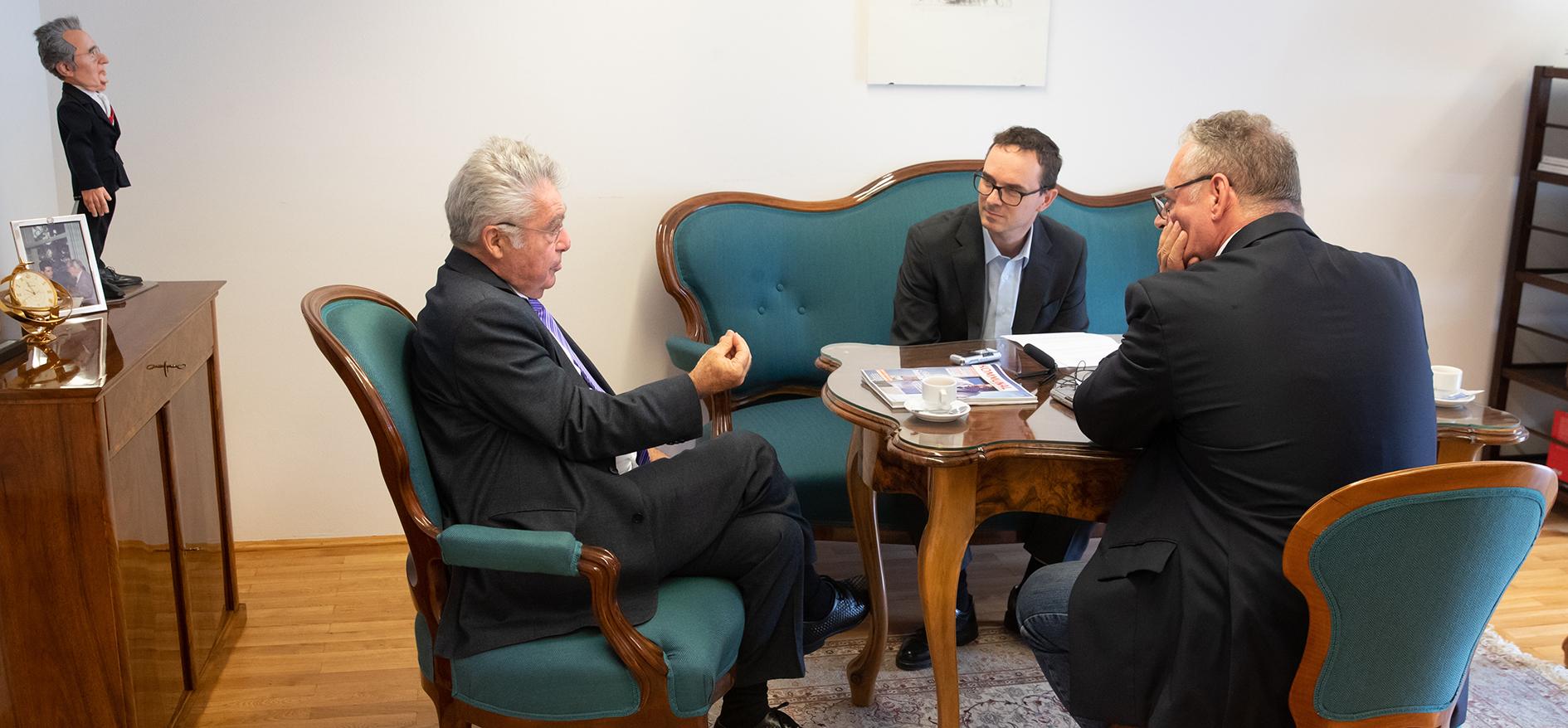 KOMMUNAL-Interview mit Heinz Fischer