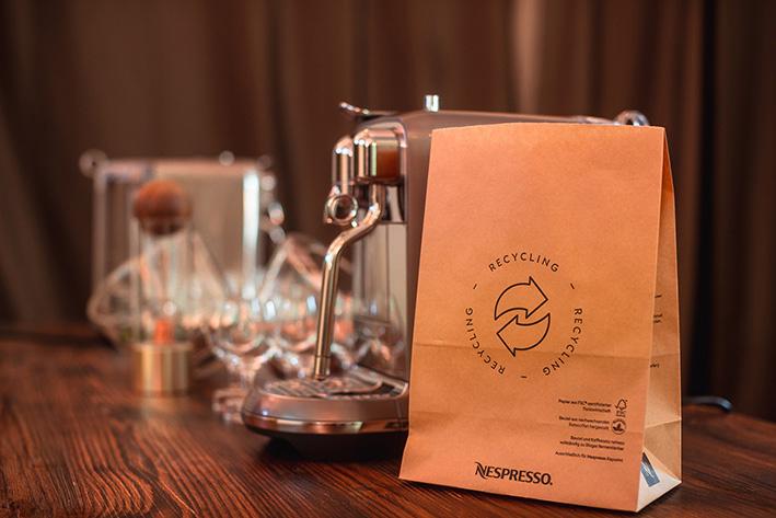 Jubiläumsevent mit nachhaltiger Wirkung: Zehn Jahre Nespresso Recycling in Österreich.