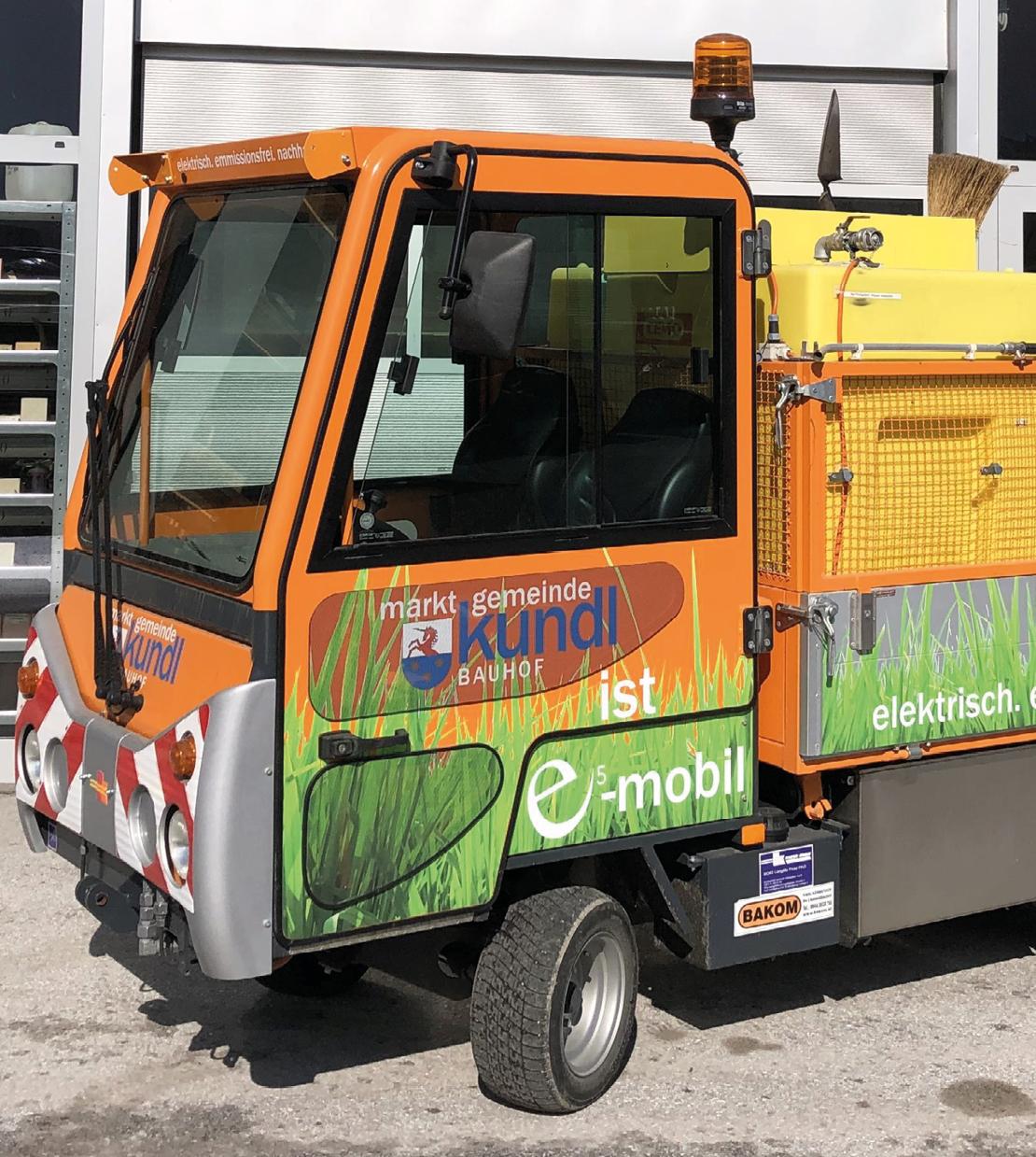 E-Fahrzeug in Kundl