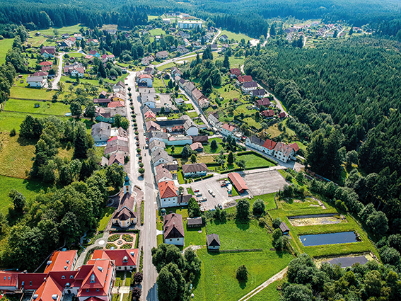 Luftaufnahme Gutenbrunn