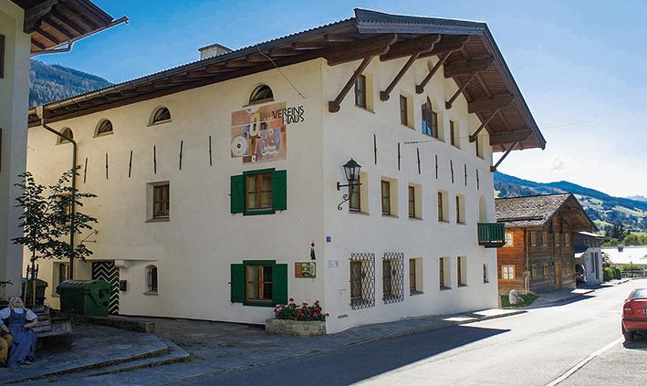 Vereinshaus in Taxenbach