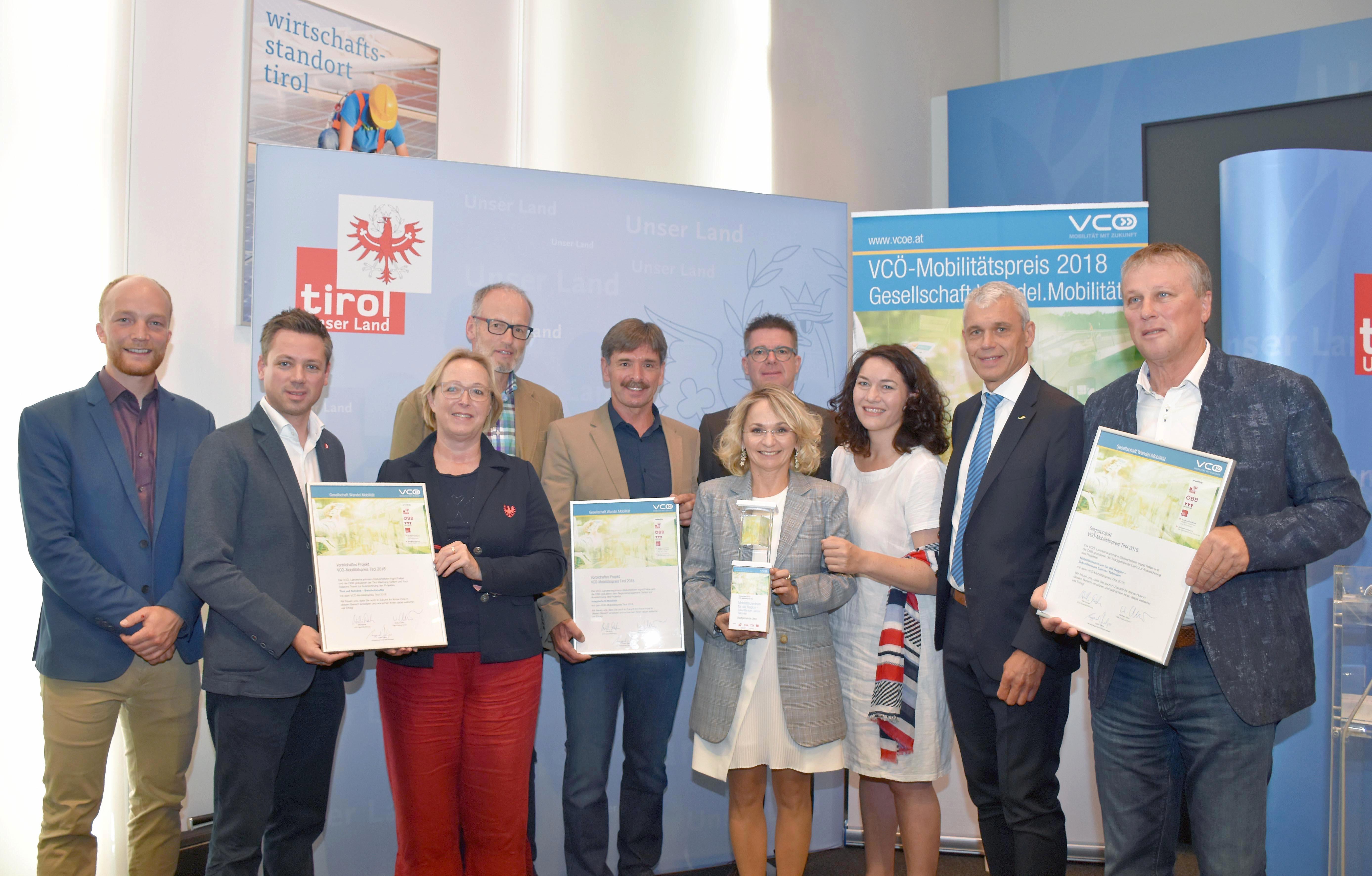 VCÖ Mobilitätspreis Tirol