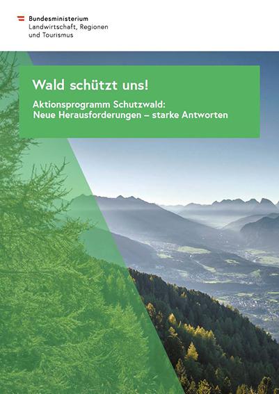 Titelseite_Aktionsprogramm Schutzwald
