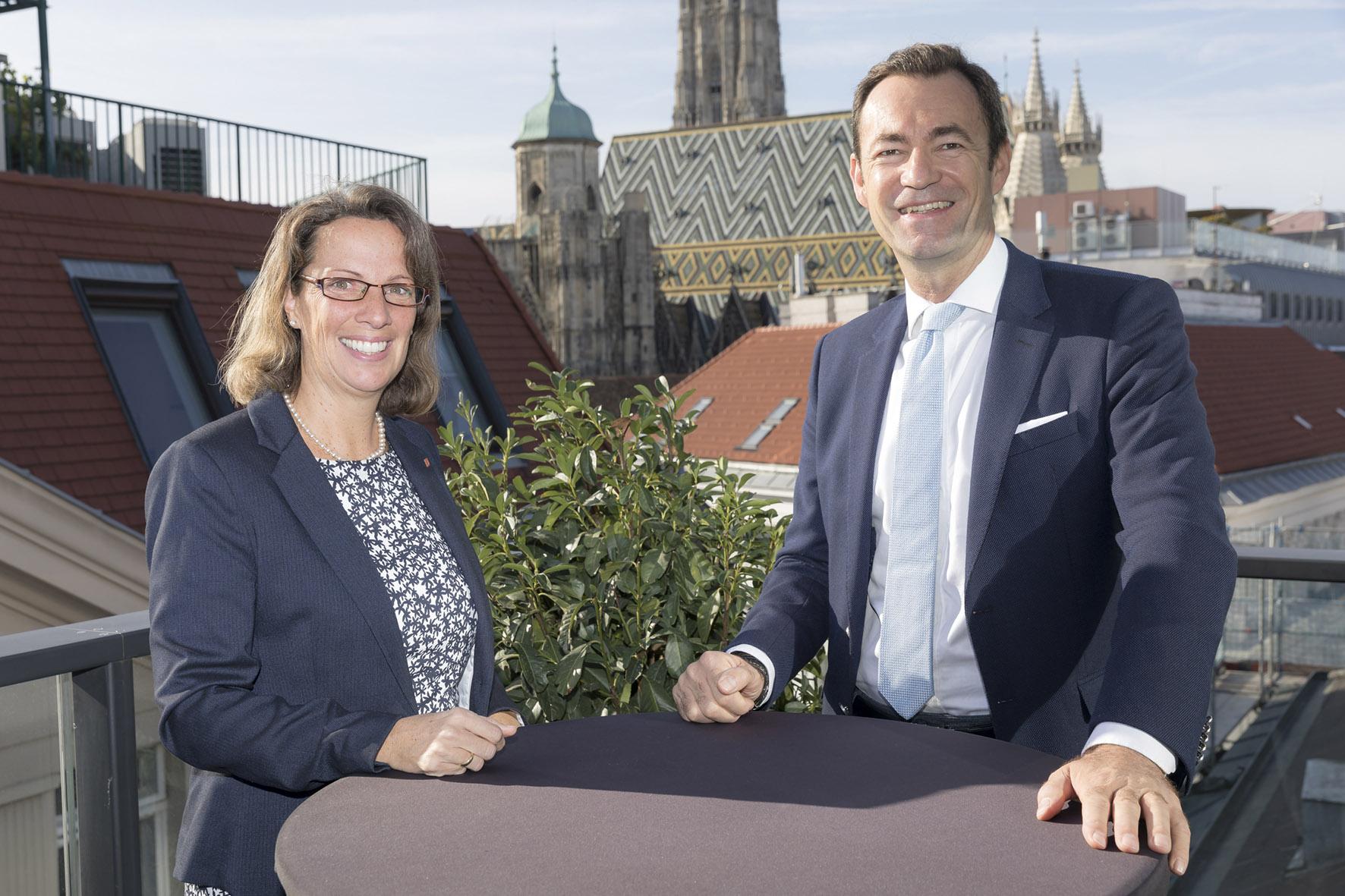 Ursula Swoboda und Harald Hauke