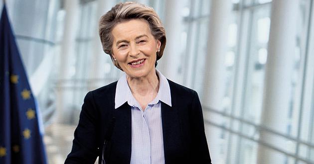 Ursula von der Leyen, Präsidentin der Europäischen Kommission