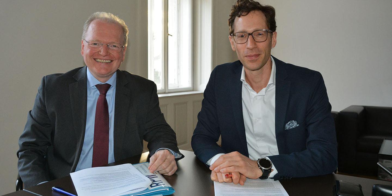 Franz Wolfbeißer und Gregor Stickler