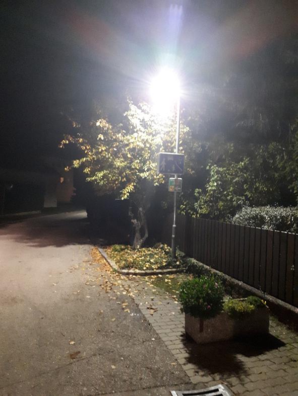 In Günselseldorf wurde die öffentliche Beleuchtung auf LED umgestellt.