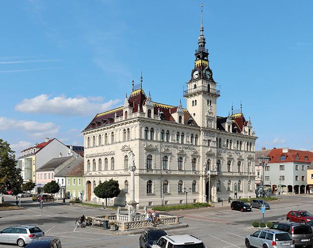 Rathaus in Laa