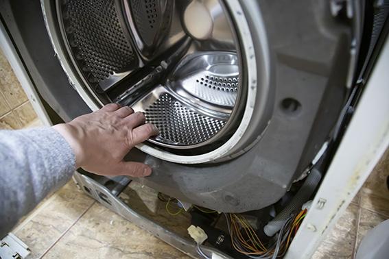 kaputte Waschmaschine