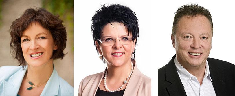 Pauline Sterrer, Waltraud Schwammer, Hannes Weninger