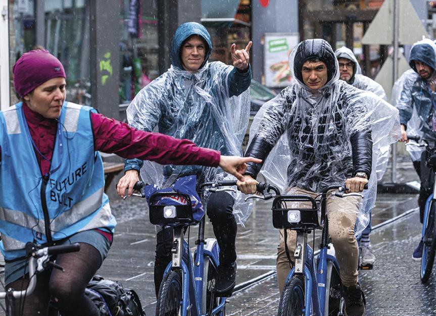 Radfahren während der UFGC