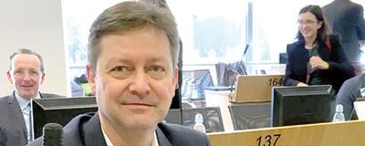 Aus Österreich nahm Vizebürgermeister Jörgen Vöringer aus Gumpoldskirchen an der Konferenz teil.