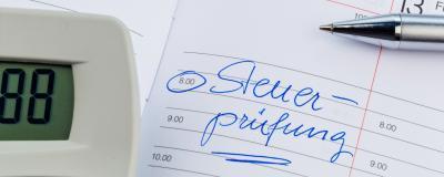 Steuerprüfungstermin
