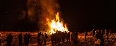 Brauchtumsfeuer