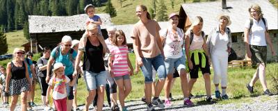 Wandern mit Gemeinderätinnen