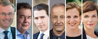 Die Spitzenkandiaten für die Nationalratswahl