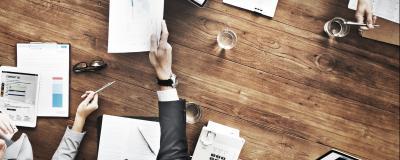 Büroarbeit zur VRV 2015