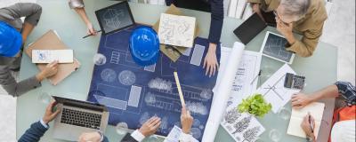 Planung eines Bauprojekts