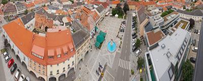 Das historische Zentrum von Judenburg.