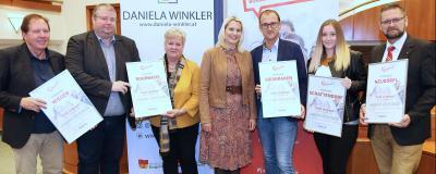 """Preisverleihung Initiative """"Deine Gemeinde – jung.aktiv.innovativ"""""""