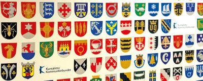 Wappen finnischer Gemeinden