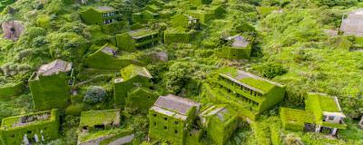 Das Dorf Houtouwan