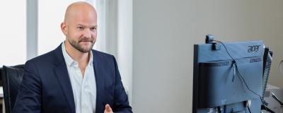 Kommunalverlag-Chef Michael Zimper