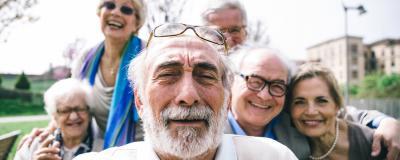 Gruppe von Senioren