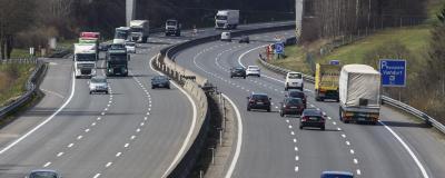 Verkehr auf einer Autobahn