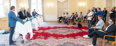 Präsentation des steirischen Gemeindepakets