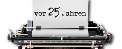 Schreibmaschine 25 Jahre