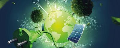 Symbolbild grüne Energie